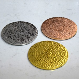 hammered coasters