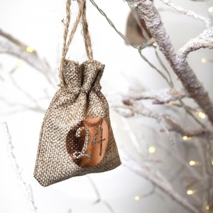 Get Into The Festive Spirit With Our Christmas Advent Calendar Tree Hanging Sacks