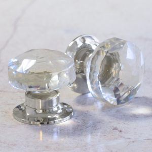 Make Your Room Look Contemporary, Light & Airy With Our Glass Knobs